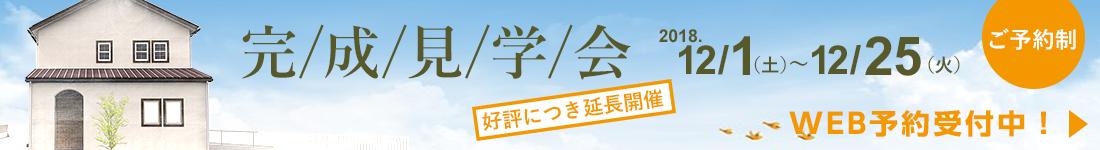 香南市野市町完成見学会開催(12/1〜12/25)